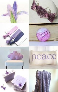 Peaceful Purple by Deb on Etsy--Pinned with TreasuryPin.com