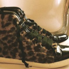 Animal print shoes , my best !