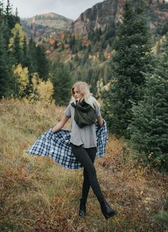 Do your FALL SHOPPING HERE! This is a must-have fall look; it's cozy, warm, casual, chic and stylish. Pair our butter soft Heather Grey Basic Tee Shirt with our slimming, sporty Uinta Zip Tech Leggings and a plaid shirt. You can wear this out with friends, on a canyon drive, to work or even lounging around the house. It's an everyday everywhere outfit. To see more, head to albionfit.com   @albionfit #fall #fashion #leggings #style #cozy #fallfashion #sweaterweather