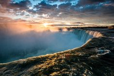 Canada should be the site of your next family vacation because it is travel abroad made easy! Consider these 5 world-class Canadian vacation destinations. Niagara Falls Usa, Ontario, Vancouver, Continental Divide, Travel Cards, Ice Climbing, Weekend Breaks, Travel Abroad, Canada Travel