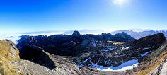Säntis Panorama - the mountain range Mountain Range, Switzerland, Mount Everest, Mountains, Nature, Travel, Pictures, Viajes, Naturaleza