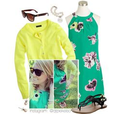 A fashion look from May 2014 featuring J.Crew dresses, J.Crew cardigans and Old Navy sandals. Browse and shop related looks.