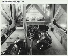 Machinery room - Pyrmont Bridge