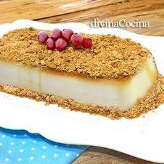 Este receta de flan de nata y galletas es muy sencilla. Es una variante del flan tradicional de huevo pero de textura más suave y cremosa.