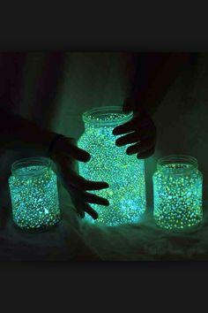 Glowing Jars - DIY Project