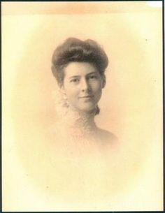 Bertha (Griggs) Chambers was traveling on the Titanic with her engineer husband, Norman Campbell Chambers. Both survived the sinking.
