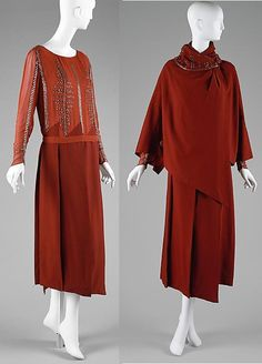1920-1923 Ensemble by Jacques Doucet, French.