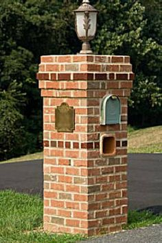 have you ever wanted a masonry mailbox built out of brick stone or marble if you have then your in the right place to learn how to build y - Brick Mailbox Designs