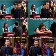 """#GirlMeetsWorld """"Girl Meets the Real World"""" (I think Cory was finally teaching his daughter that the world isn't all sunshine/lollipops like she thinks)"""