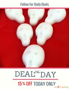 Today Only! 15% OFF this item. Follow us on Pinterest to be the first to see our exciting Daily Deals. Today's Product: The Scream Soap Set Buy now: https://orangetwig.com/shops/AAADFc8/campaigns/AABcT8q?cb=2015010&sn=MollycoddleSoap&ch=pin&crid=AABcT8i&exid=164189863