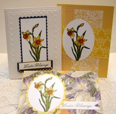 Stampin up abundant hope handmade easter cards