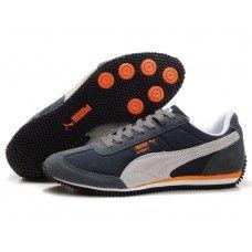 Puma Men Usain Bolt Running Shoes Black/Orange
