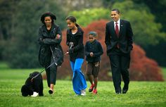 Ever since we first laid eyes on the Obama family on the campaign trail back in 2008, they have provided us with countless aww-inspiring moments. As a couple, President Barack Obama and First Lady Michelle Obama are a united front, and their love for daughters Malia, 14, and Sasha, 11, is a continual reminder of just how beautiful Black love can be. Today, as we cast our ballots, we take a look at the First Family's sweetest moments.