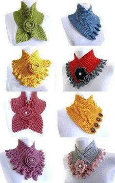 340 × 540 Pixel Source by brightiris Anenka - Accesorios de Moda Knitted alternatives to a regular scarf Neck warmers so cute! Discover thousands of images about Hand Knit LACE Neck Scarf / neck warmer / PINK by QuiltNCrochet by likeaccessories on Etsy Crochet Scarves, Crochet Shawl, Crochet Clothes, Crochet Stitches, Crochet Baby, Knitted Cowls, Knit Lace, Crochet Crafts, Yarn Crafts
