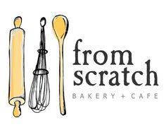 Premade Logo  Kitchen Baking Logo Bakery Cake by STONESOUPDESIGN, $49.00