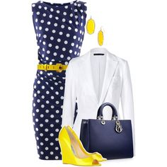 Be Trendy: Wear Polka Dots Designs....different shoes though