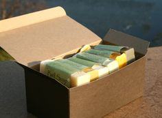 Six pack of our Organic Soaps for Dry and Sensitive by BellSoap, $32.00