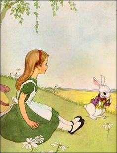 .        Alice in Wonderland  written by Lewis Carroll,       illustrated by Marjorie Torrey (1955)       . . . . .  . .  ...