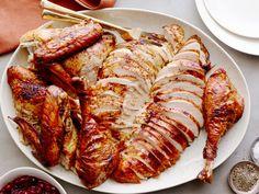 Cajun Brined Turkey-Two Ways recipe from Bobby Flay via Food Network