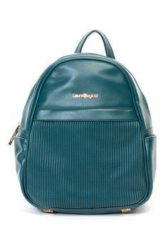 Laura Biagiotti Rucsac de piele ecologica, cu segment cu striatii Femei Segment, Laura Biagiotti, Fashion Backpack, Backpacks, Bags, Handbags, Backpack, Backpacker, Bag