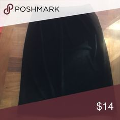 Selling this Black Velvet Skirt on Poshmark! My username is: longjoyfullife. #shopmycloset #poshmark #fashion #shopping #style #forsale #katherine stone #Dresses & Skirts