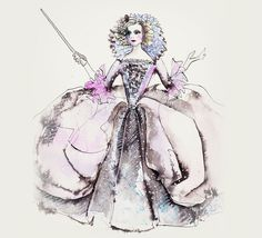 """Concept art of the Fairy Godmother from Disney's """"Cinderella"""" (2015). Description from pinterest.com. I searched for this on bing.com/images"""