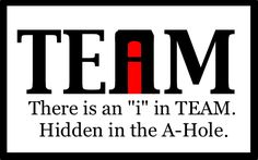 On Being a Team Player — Your Site Title