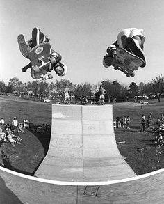Bryce Kanights photography - Steve Caballero and Christian Hosoi -1985