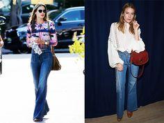 Prendas de la temporada: front pocket flare jeans Chloe, Prada, Wide Leg Jeans, Flare Jeans, Bell Bottoms, Bell Bottom Jeans, Women Wear, Style Inspiration, Legs