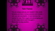 Twin Flames -  Facts