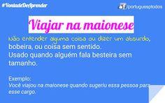 Português para todos: Viajar na maionese