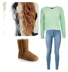 """""""Winter outfits"""" by being-perfect-is-a-fantasy on Polyvore featuring Pilot and UGG Australia"""