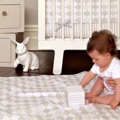 Harlequin Dusk Cot Bed Set | Castles for Rascals - Imaginative interiors for little ones