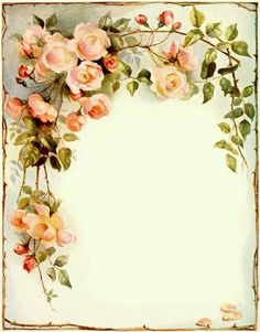 Ideas vintage flowers decoupage scrapbooking for 2020 Vintage Labels, Vintage Ephemera, Vintage Cards, Vintage Paper, Printable Vintage, Vintage Writing Paper, Vintage Frames, Vintage Prints, Vintage Ideas