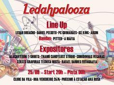 Ledahpalooza - flyer digital