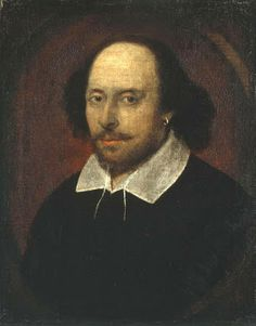 William Shakespeare, (baptized) 1564-1616. English playwright, poet, and actor during late Tudor dynasty.