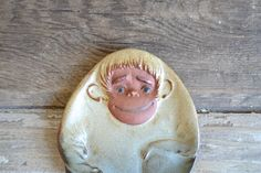 vintage UCTCI monkey plate by aneedleinthehay on Etsy, $21.00