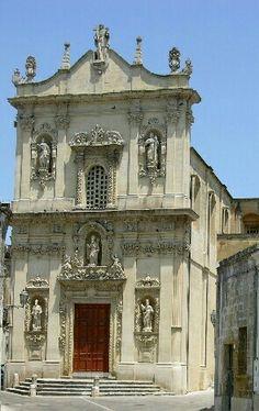 Chiesa Matrice. Vernole (Lecce) 1730