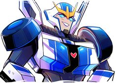 I'm still going with these! Here was Sunday's bara, Strongarm! gonna save tarn and megs for last ;w;