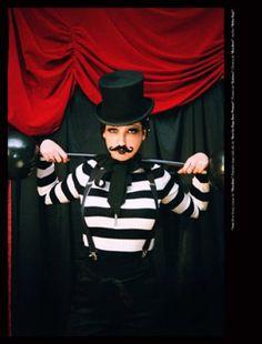 Female Strongman circus costume