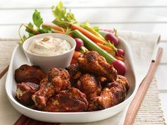 Grilled Firecracker Chicken Drummies - serve with sour cream on the side.