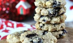Cherry White Chocolate Chip Oatmeal Cookie 5x5