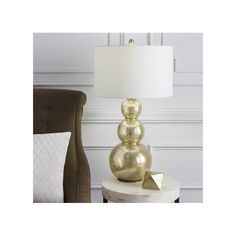 Rickmansworth Dia x H Table Lamp Wayfair Touch Table Lamps, Gold Glass, Accent Furniture, Decorating Tips, Accent Decor, Home Accessories, Home Improvement, Wall Decor, House Design