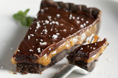 Chocolate Caramel Tartlets for Chocolate Monday! - The Heritage Cook ®