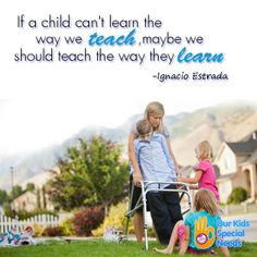Struggling learners need to have the opportunity to express the knowledge in a way that is meaningful to them. #WordsofWisdom #SpecialNeeds #Disabilities #IgnacioEstrada
