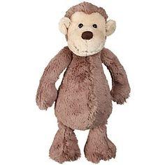 Jellycat Bashful Monkey Soft Toy, Medium online at JohnLewis.com