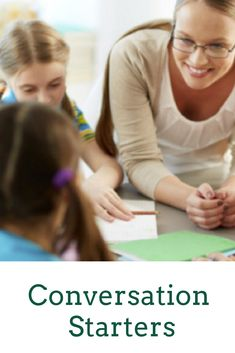 Conversation Starters For Teachers and Counselors (For Middle School Students) School Resources, Classroom Resources, Teacher Resources, Teaching Ideas, Classroom Ideas, Middle School, Back To School, Behavior Management Strategies, Busy Teachers