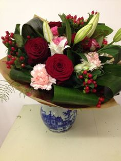 Flowers by Jan Park at Blue - perfect for Valentine's Day!