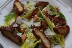 Caesar Salad met dé dressing for succesing