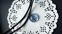 Blue planet choker by MirGe By Heila G https://www.etsy.com/listing/481139909/blue-planet-choker